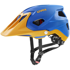 UVEX Quatro Integrale Casco, blue energy mat